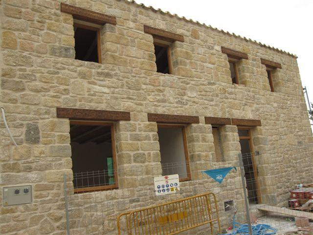 Mortero tem tico o tixotr pico - Piedra artificial para fachadas ...