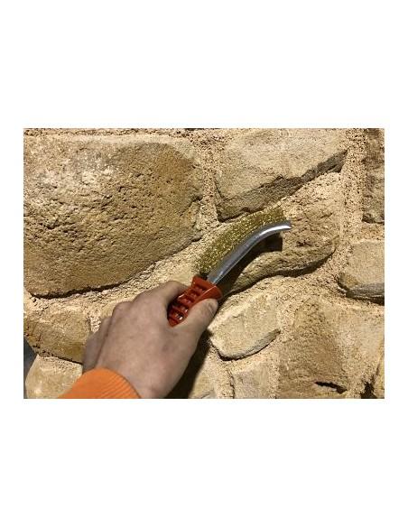 cepillo para limpieza de piedra