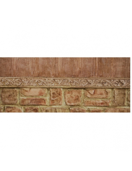 Concrete border mold
