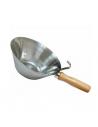 Stainless steel bucket scoop