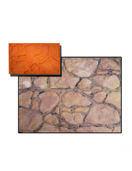 vertical concrete stamp