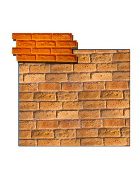 brick theming stamp