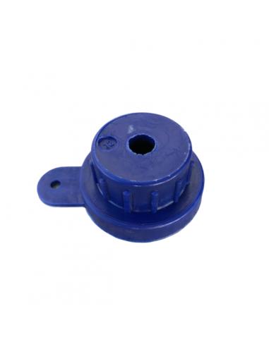Conical rubber nozzle for spray gun