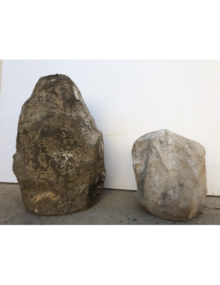 Rocas hechas con mortero de capa fina para porexpan ESTone.tex-ForteMix