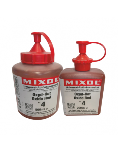 Mixol red dyes