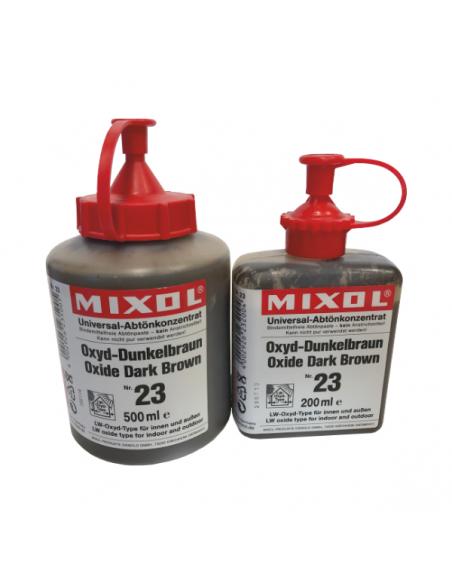Mixol dark brown dyes mineral pigments