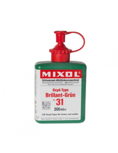 Mixol dyes mineral pigments
