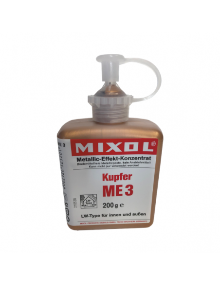 Mineral pigments Mixol Copper dyes
