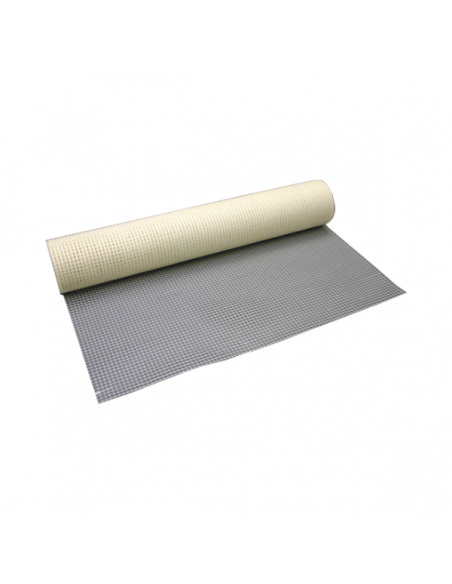 Fiberglass anti-crack mesh for mortars and plasters