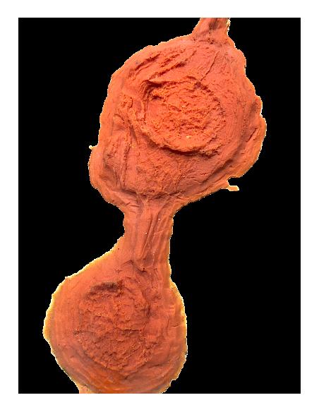 Artificial wood mortar molds