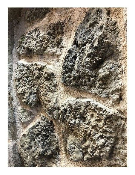 volcanic stone texture mold