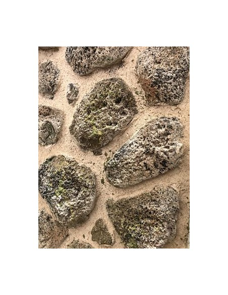 reproduction of volcanic stone