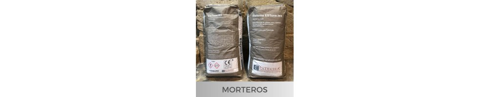 Thixotropic mortars for theming and restoration of heritage