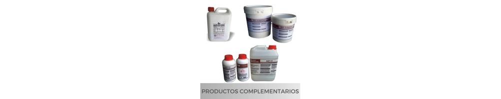 Productos complementarios para trabajos de tematización, restauración