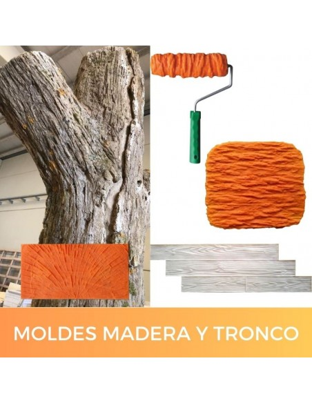 Moldes madera y tronco