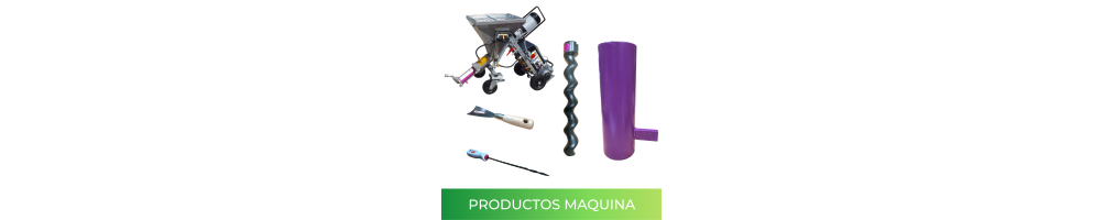Products and spare parts for the spraying machine