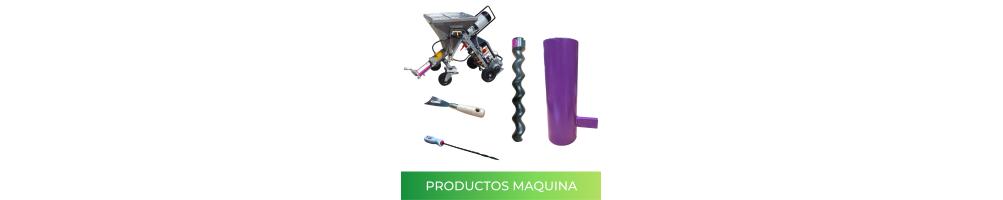 Productos y recambios para la maquina de proyectar